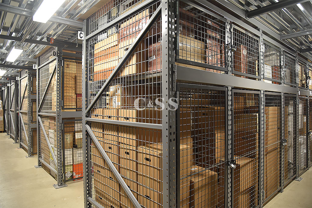 Rack Design Walk in Security Cages