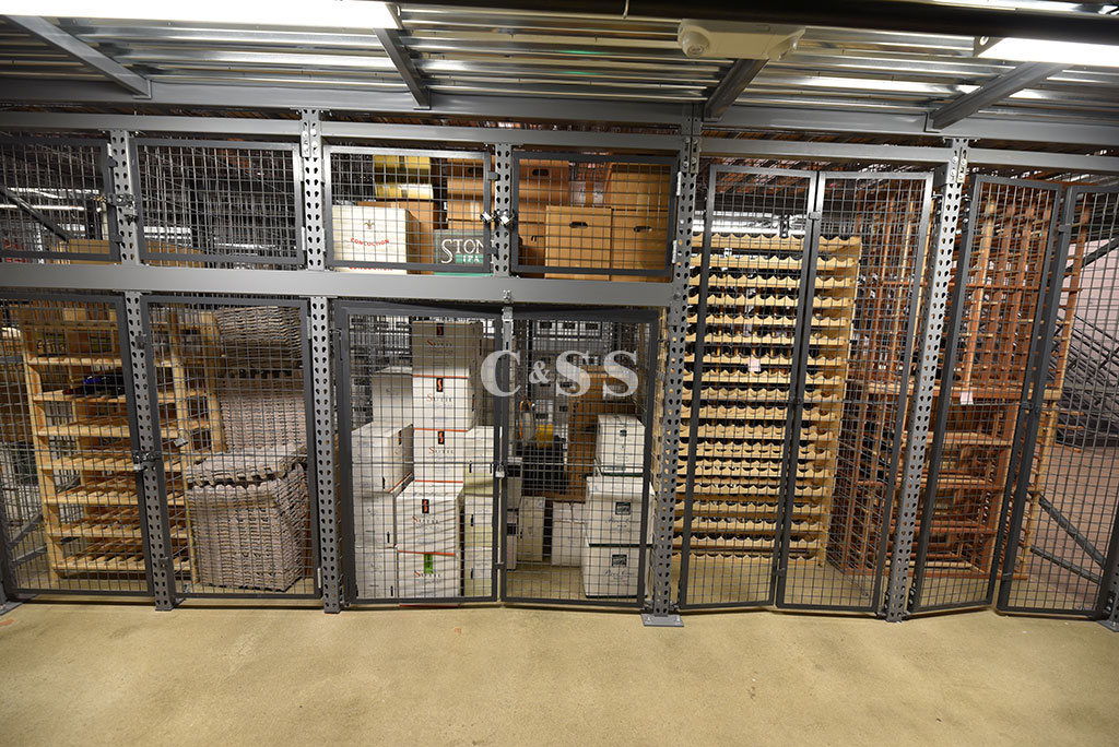 San Diego Wine Distributor Rack Storage for Building And Fire Codes