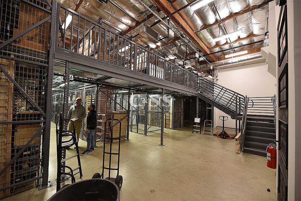 Secured Wine Storage Lockers