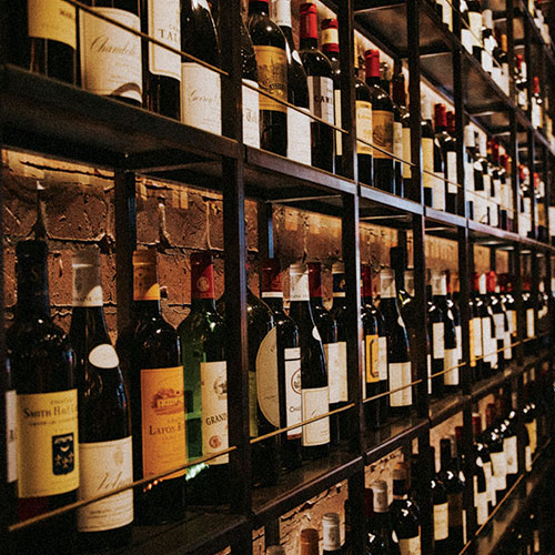 Wine Preserved with The Perfect Climate Control